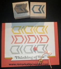 The new undefined Carve your own rubber stamp line from Stampin' Up! - Oh the Possibilities. #StampinUp #Undefined
