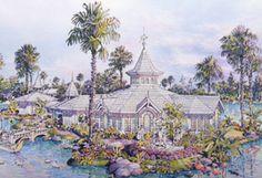 Vintage Walt Disney World: Disney's Fairy Tale Weddings Launches at Disney's Wedding Pavilion in 1995 #Disney #Wedding #Pavilion #anniversary