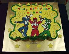 power rangers cupcake cake | view large
