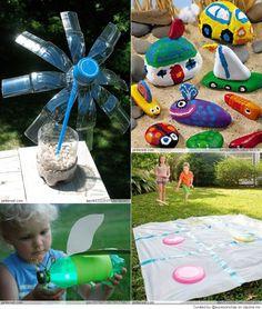 Summer Camp crafts for Kids