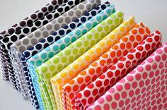 FAT QUARTER Bundle, Honeycomb Dots in Reverse by Riley Blake Fabrics, COMPLETE #rileyblakedesigns #honeycombdot