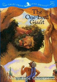The One-Eyed Giant (Odyssey) by Mary Pope Osborne, http://www.amazon.com/dp/0786809280/ref=cm_sw_r_pi_dp_bxecsb053Z3X4