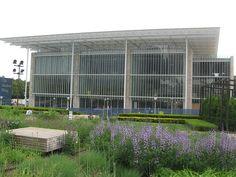 Oudolf ~ Lurie Garden, Millennium Park, Chicago  _/\/\/\/\/\_                   Art Institute of Chicago Modern Wing