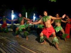 Traditional Men's Samoan Dance