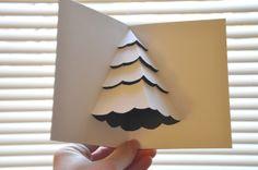 Navidad: pop-up christmas card