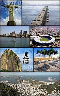 Rio de Janeiro -Brazil -Patrimônio da Humanidade