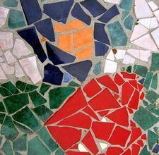 tabl top, craft, mosaics, mosaic stepping stones, mosaic tables, mosaic tiles, mosaic designs, stained glass, outdoor mosaic
