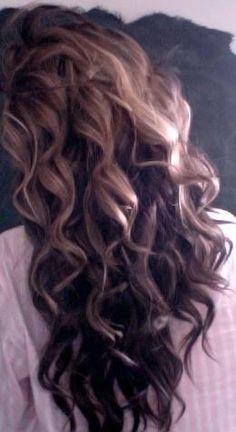 cute messy hair