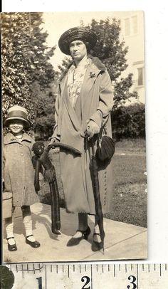 Woman Child & Boudoir Doll