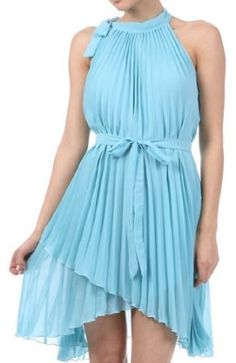 sleeveless dress, assymetr hem, colors, dresses, short sleeveless