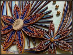 Hanezz Art quill flower