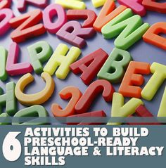 Our# LearningToolkit blog has 6 fun activities you can do at home to build preschool-ready language and #literacy skills. Click for more.