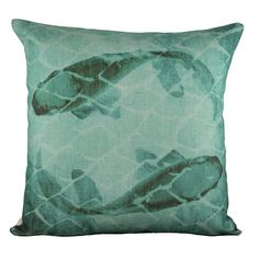 I pinned this Swirling Fish Pillow from the Zodiac: Pisces event at Joss and Main!