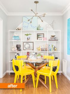 Before & After: Dining Room Gets a Do-Over
