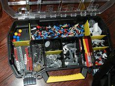 """Making Montessori Ours""   Lego Mindstorms Storage"