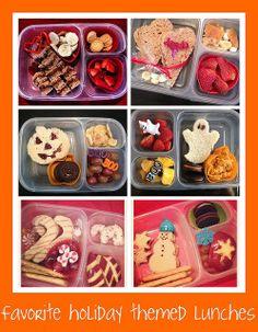 holiday school lunch ideas by Sweet Shoppe Mom