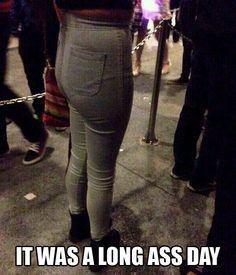 Long ass day funni stuff, laugh, long ass, high waisted shorts, giggl, hilari, longass, humor, mom jeans
