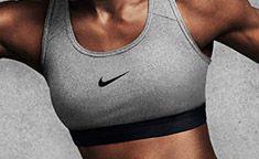 Check out the Nike Pro Classic Bra! Perfect for cardio and training. Available at Lady Foot Locker.