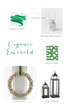 celebrate the Pantone color of 2013 with this emerald holiday table inspiration!