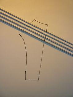 Add gathers or pleats to a flat pattern