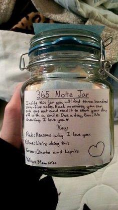 """Geschenk für die Freundin: """"Das 365 Glas"""" - die schönste ..."""