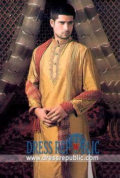Style DRM1290 - DRM1290, Deepak Perwani Mens Shalwar Kaemez EID 2013 Collection, Ramadan EID Designs by www.dressrepublic.com