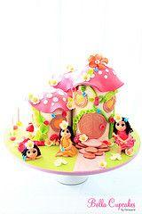 Magical Fairy House Cake
