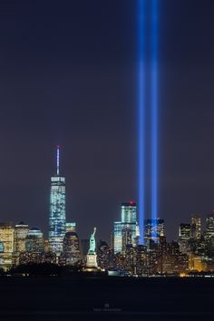 NYC 9/11 Light Tribute by Toby Harriman on 500px