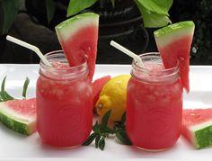 Sparkling Watermelon Lemonade