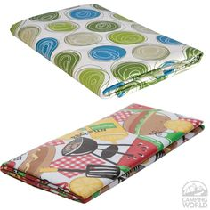 for camping - fun prints of Vinyl Tablecloths - Product - Camping World