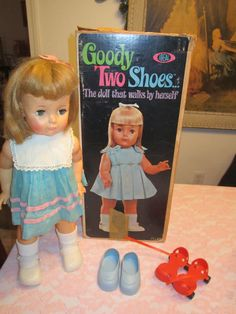 Ideal Goody Two Shoes Doll; 1960's