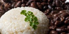 Grandma Anna's Puerto Rican Rice and Black Beans