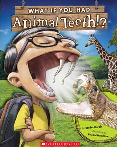 Some links to activities for this book, including animal teeth patterns.....this looks a little weird but it looks like something a boy would like...will have to pre-read!