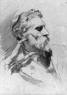 sketch by john singer sargent