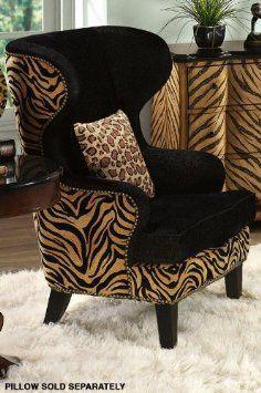 Cute safari chair!