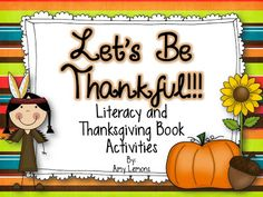 Step into 2nd Grade with Mrs. Lemons: Let's Be Thankful!
