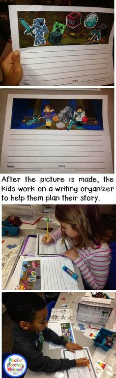 'm telling you . . . the key to great writing is MOTIVATION! And, what is more motivating than Minecraft? Get your Minecraft Crazy Kids writ...