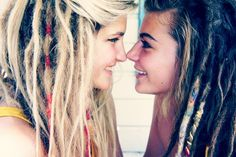White Girl Dreadlocks Tumblr | dreadlocks, dreads, hair, style, hair style, love, hippie