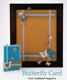 Butterfly Card from the Autumn 2014 issue of CardMaker Magazine. Order a digital copy here: http://www.anniescatalog.com/detail.html?code=AM5254