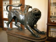 Chimera of Arezzo ~ one of the main reasons I fell in love with art.