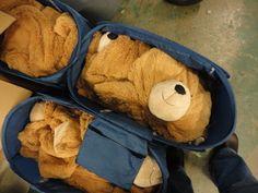 Big Hunka Love Bears waiting to be stuffed!
