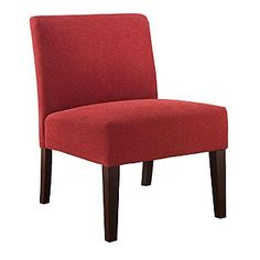Jaclyn Smith -Accent Chair Red