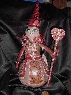 Queen of Hearts Gourd