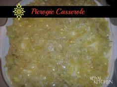 Fan Recipe: Pierogie Casserole