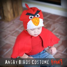 RED Bird costume