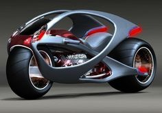 motorcycle of the future from HYUNDAI