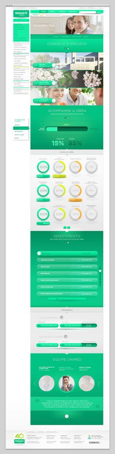Unimed Londrina #interactive #template #webdesign #product #color