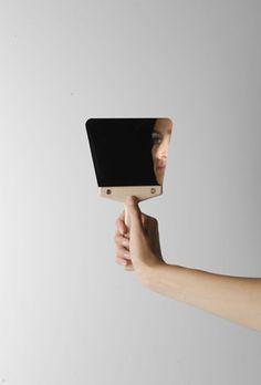 Spatulas Mirrors by Jennifer Rabatel