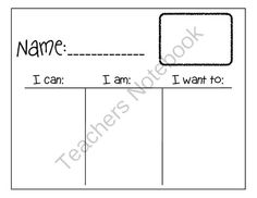 Graphic organizer-I am, can, want from Miss Caroline on TeachersNotebook.com -  (1 page)  - Free graphic organizer to use for personal or character descriptions.