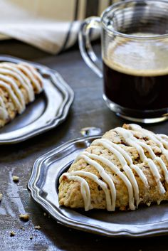 Toffee Almond Scones